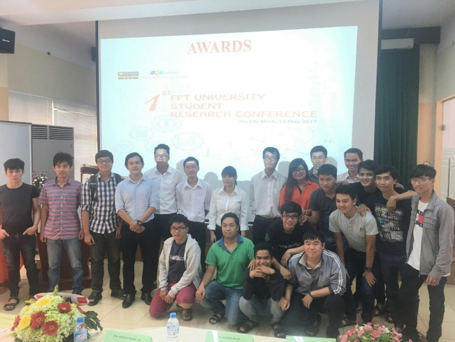 This is the first year FPT University HCMC held a scientific research conference for students.